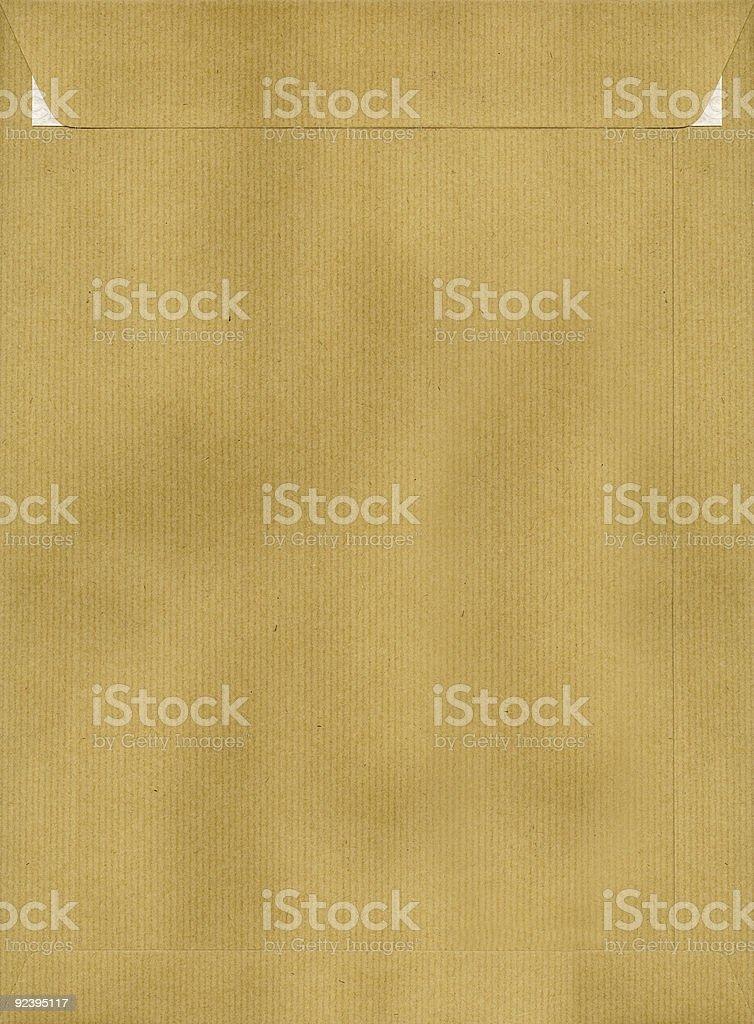 Kraft Envelope royalty-free stock photo