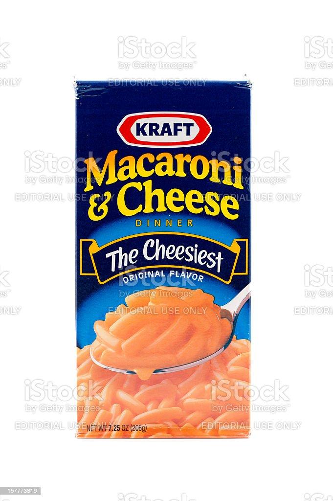 Kraft Macaroni & Cheese stock photo