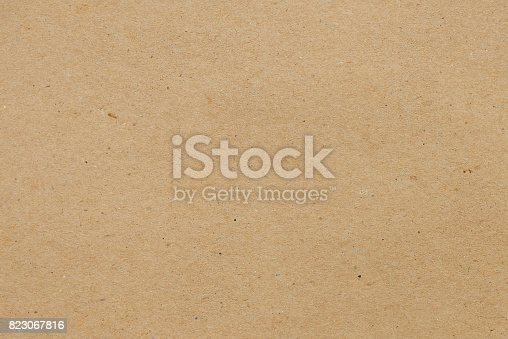 istock Kraft paper for background 823067816
