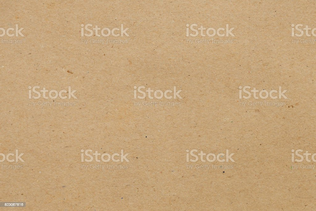 Kraft paper for background stock photo