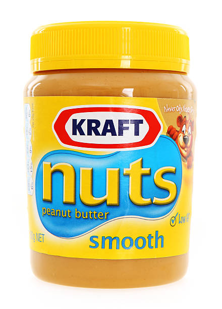 Kraft Peanut Butter - Australia stock photo