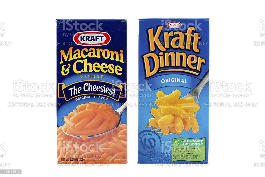 Kraft Products stock photo