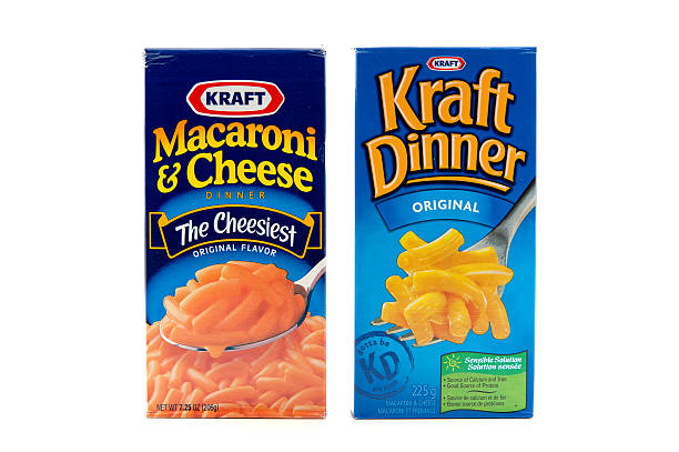 Kraft Products stock photo