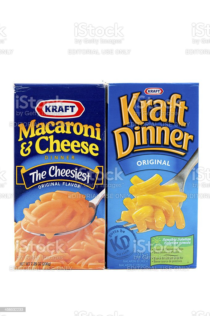 Kraft Products royalty-free stock photo