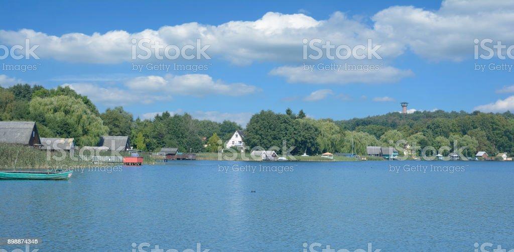 Krakow am See,Mecklenburg Lake District,Germany stock photo