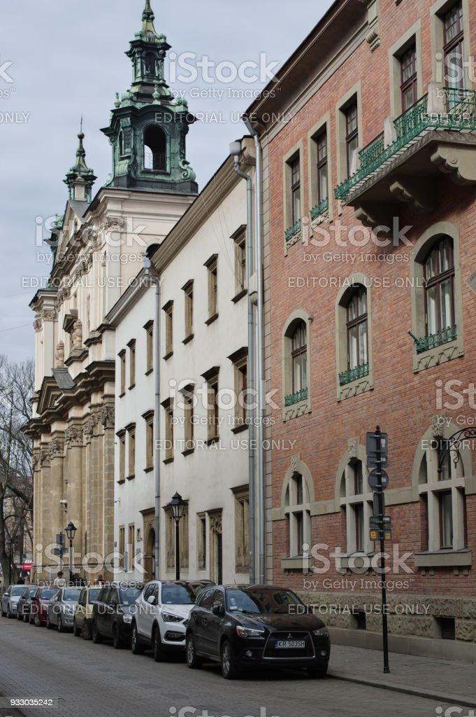 Krakow, Old Town stock photo