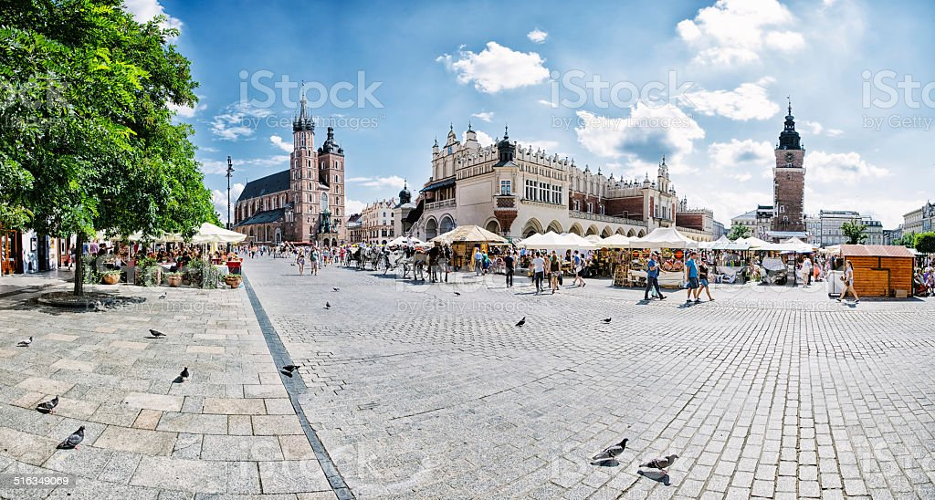 Krakow stock photo