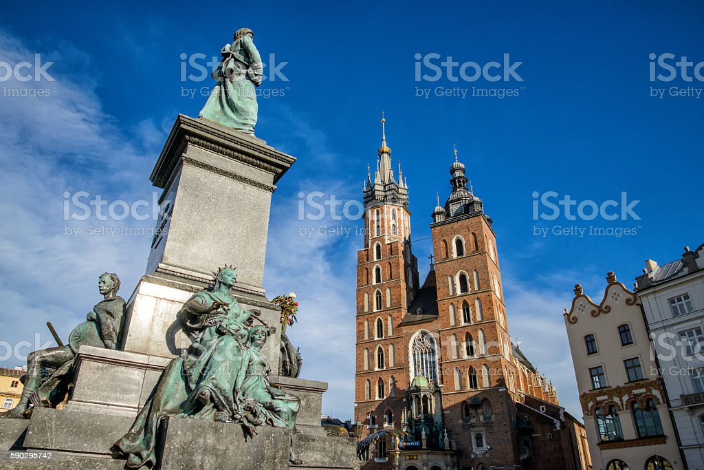 Krakow royaltyfri bildbanksbilder