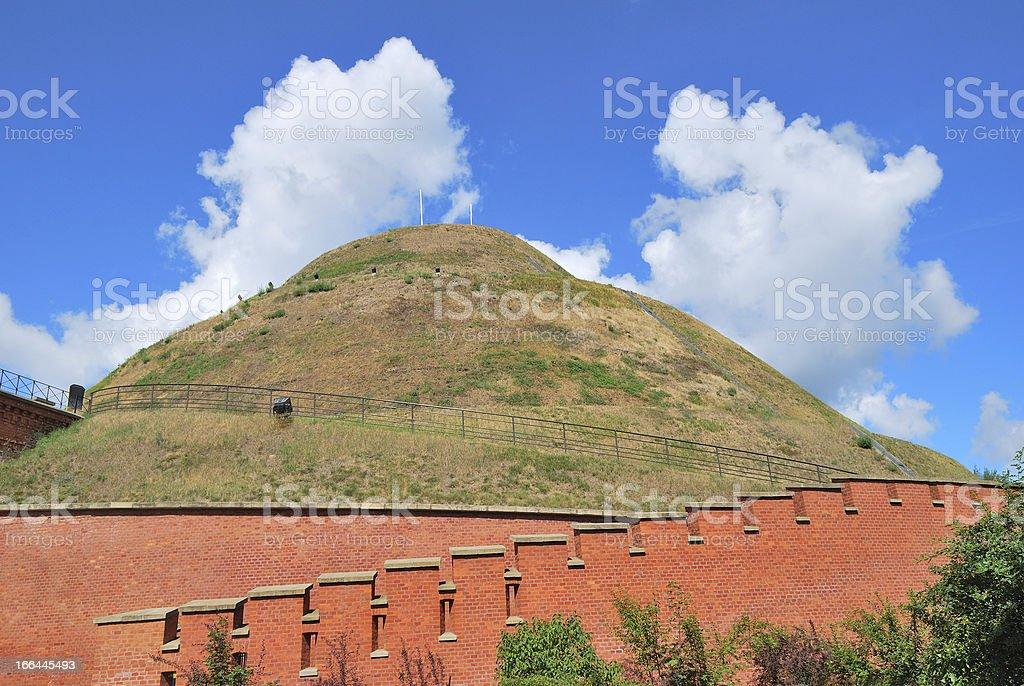 Krakow, Poland. Kosciuszko Hill royalty-free stock photo
