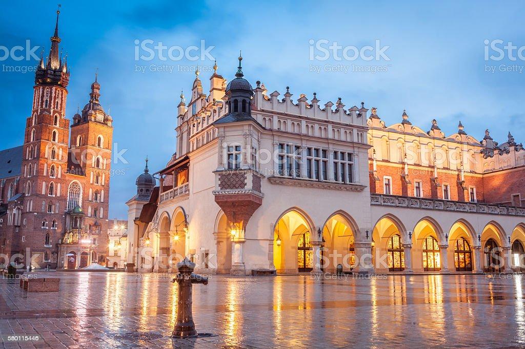 Krakow, Poland stock photo