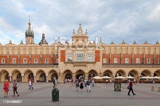 istock Kraków Cloth Hall 1154466907