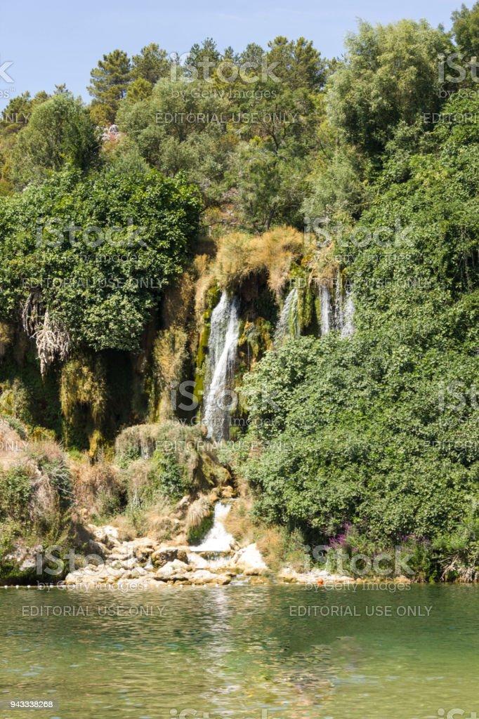 Kravica waterfall in Bosnia Herzegovina stock photo