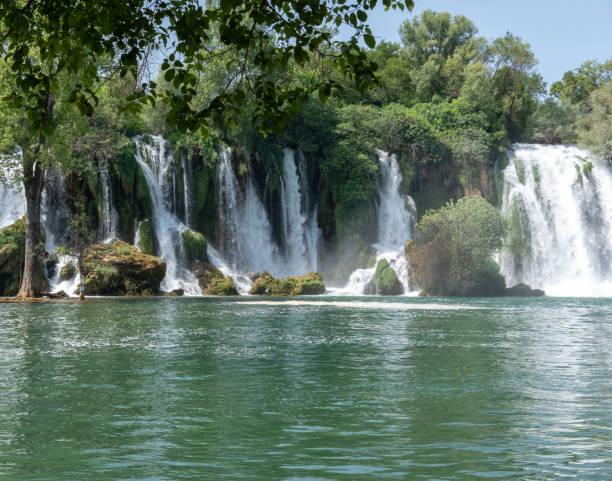 Kravica Waterfall stock photo
