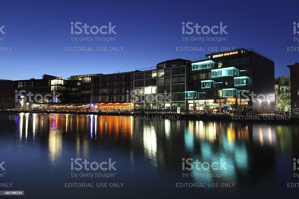 Kreativkai in Munster, Germany stock photo