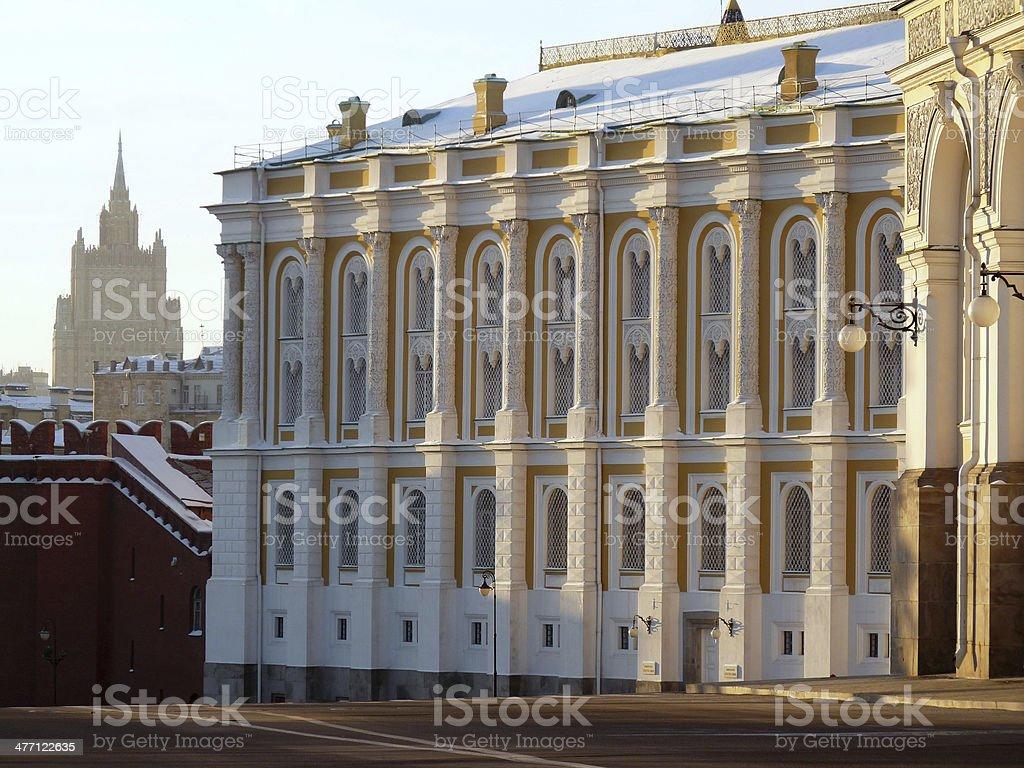 Kremlin Armory Museum. Russia stock photo
