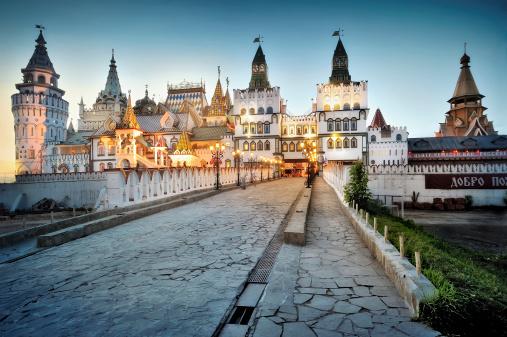 Kremlin In Izmailovo Moscow Stock Photo - Download Image Now
