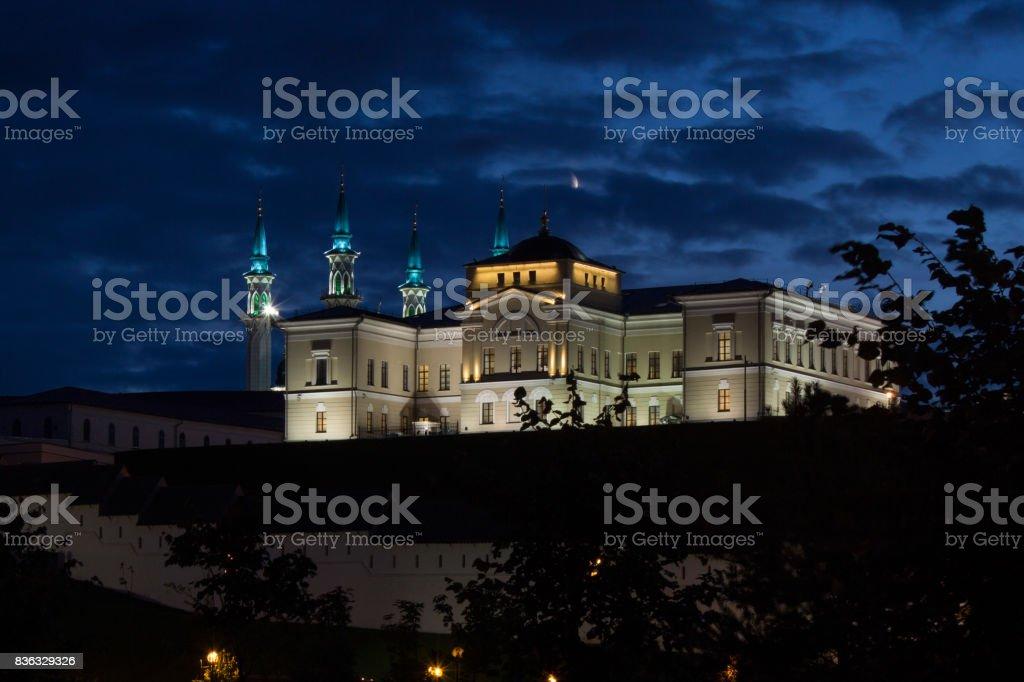 Kremlin in Kazan stock photo