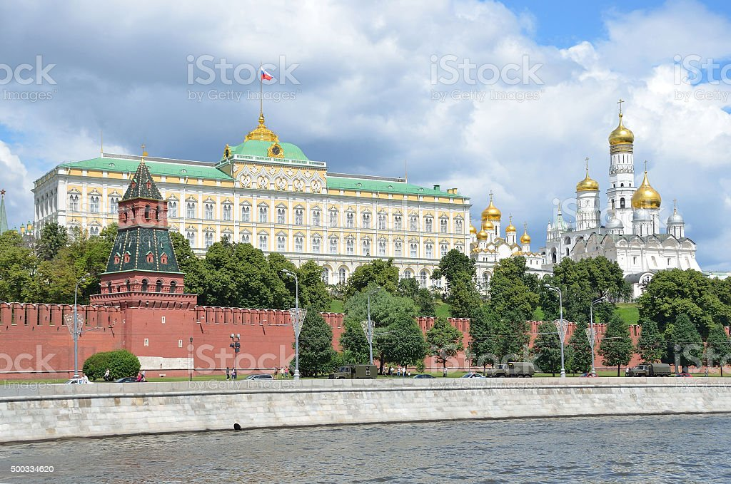 Kremlin in Moscow, Russia stock photo