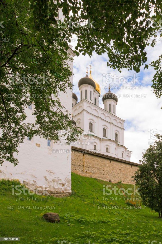 Kremlin in the city of Pskov. foto stock royalty-free