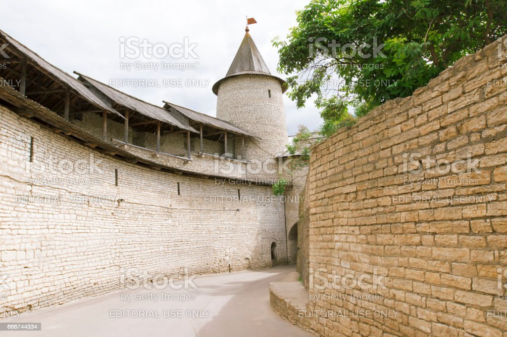 Kremlin in the city of Pskov. foto stock royalty-free