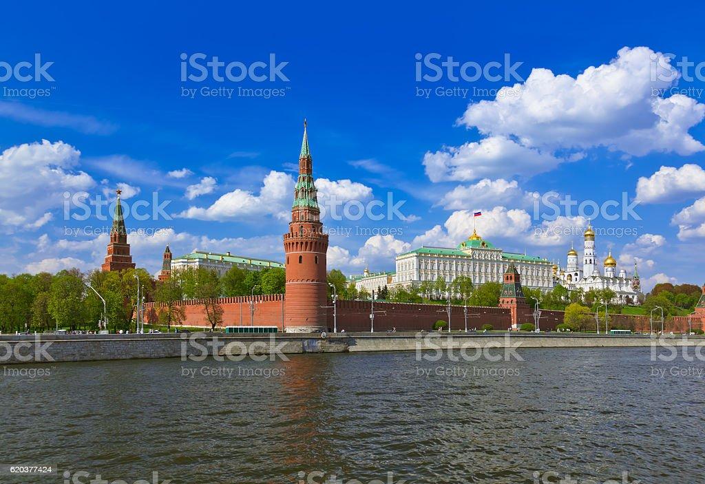 Kreml, Moskwa, Rosja zbiór zdjęć royalty-free