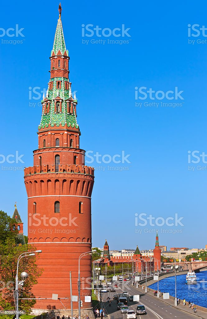 Kremlin de Moscovo, Rússia foto de stock royalty-free