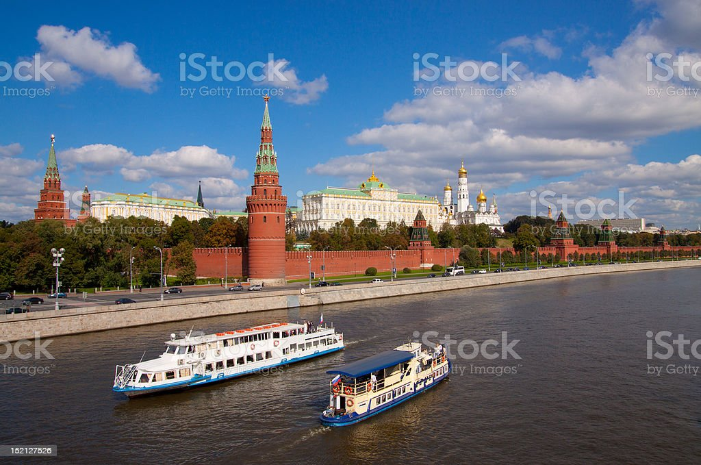 Kremlin royalty-free stock photo