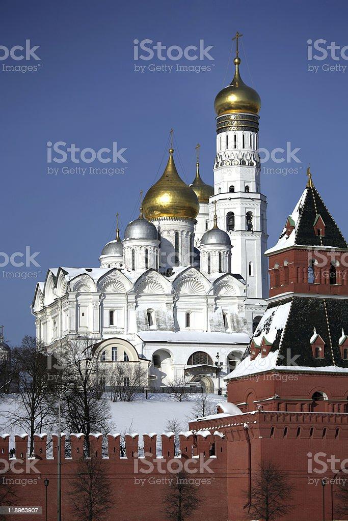Kreml Serie. Erzengel-Michael-Kathedrale. – Foto
