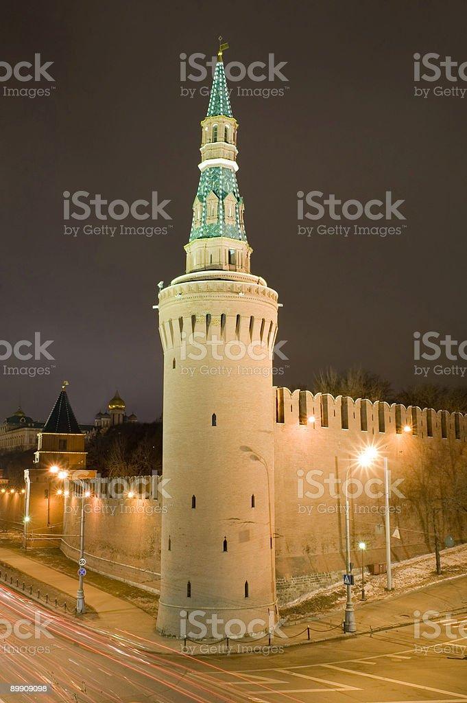 Kremlin Tower foto de stock libre de derechos