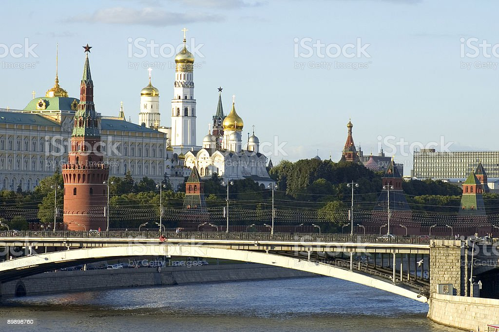 Kremlin towers royalty-free stock photo