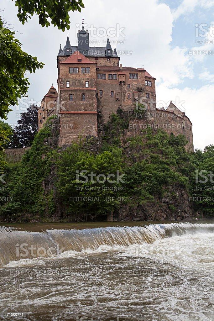 Kriebstein castle stock photo