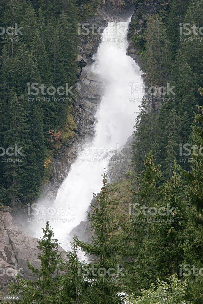 Wasserfall Krimml foto stock royalty-free