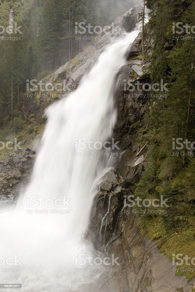 Krimml Wasserfall royalty-free stock photo
