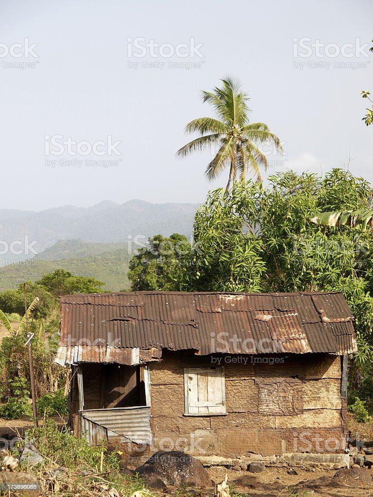 Krio House - Sierra Leone royalty-free stock photo