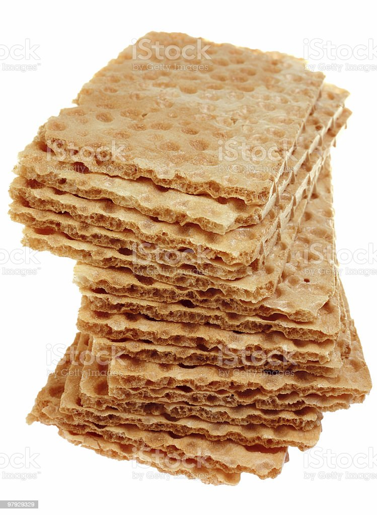 Krisp bread royalty-free stock photo