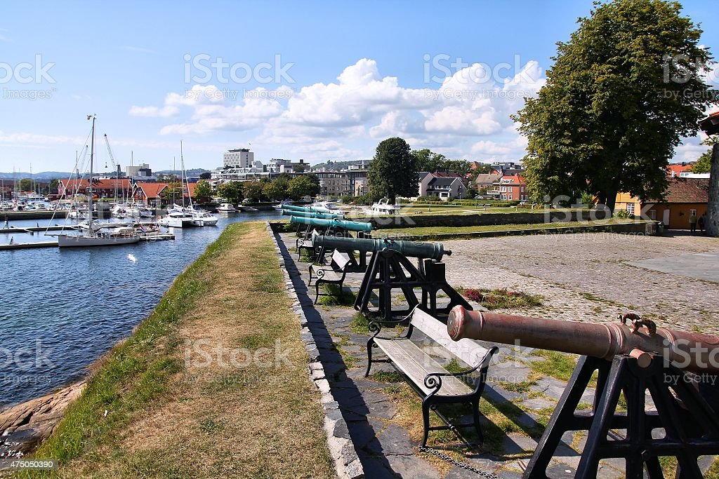 Kristiansand, Norway stock photo