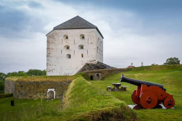 Kristiansten Fortress, Trondheim stock photo