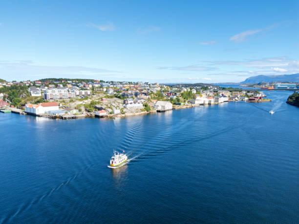 Kristiansund Norway stock photo