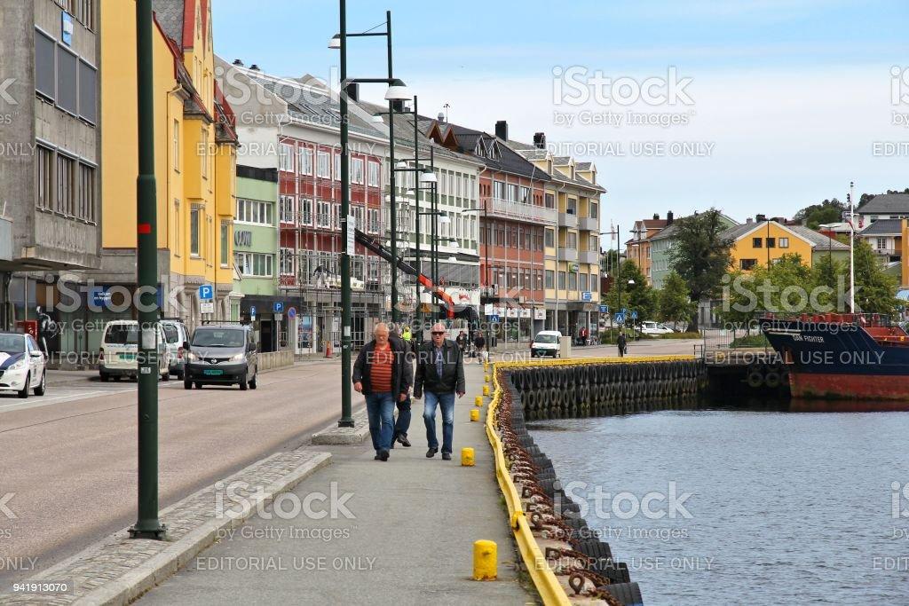Kristiansund stock photo
