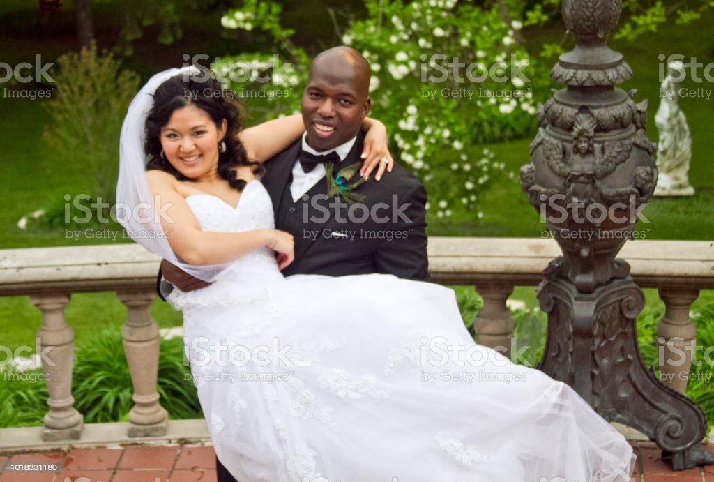 Kristin & David's Special Day stock photo