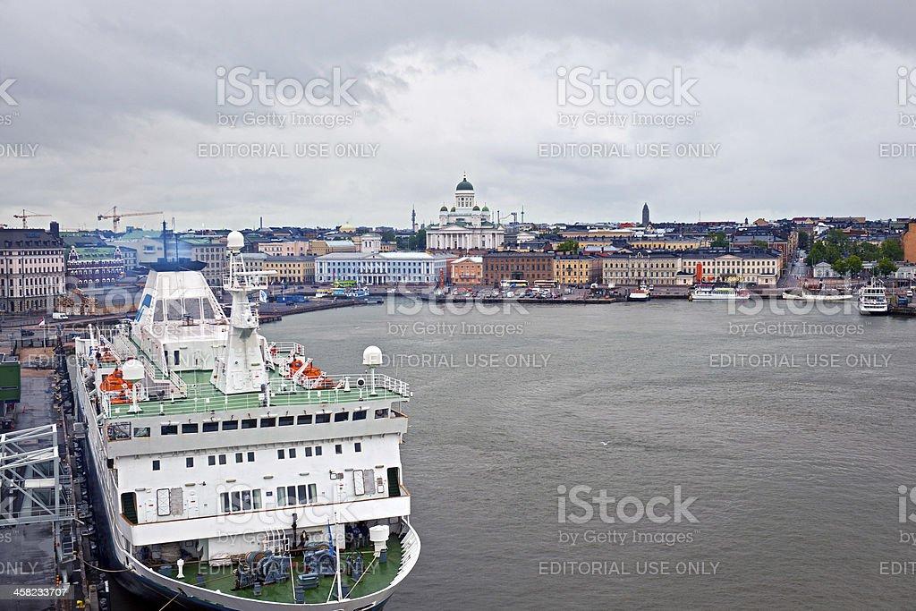 Kristina Cruises in Beautiful Helsinki Finland Europe stock photo