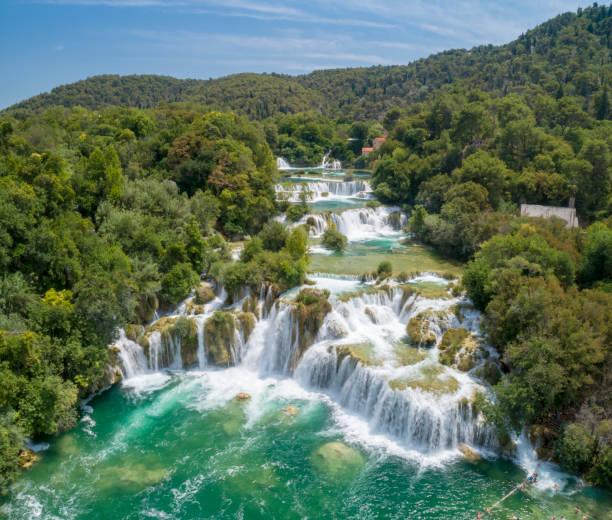 Nationalpark Krka Wasserfälle, Kroatien – Foto
