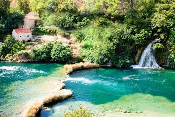 Krka, Sibenik, Kroatien-Wo Sie den Rest Ihres Lebens verbringen wollen – Foto