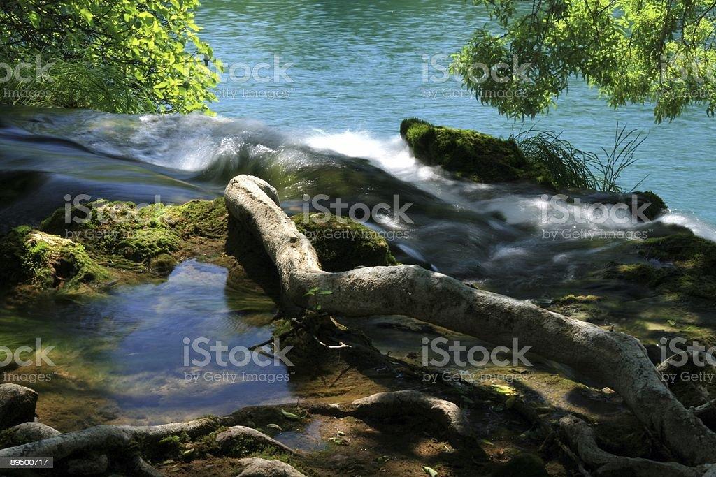 Wodospady Krka zbiór zdjęć royalty-free