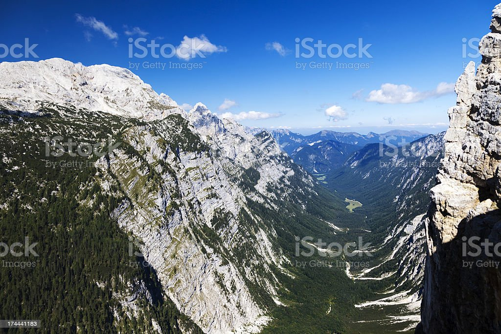 Krma valley royalty-free stock photo