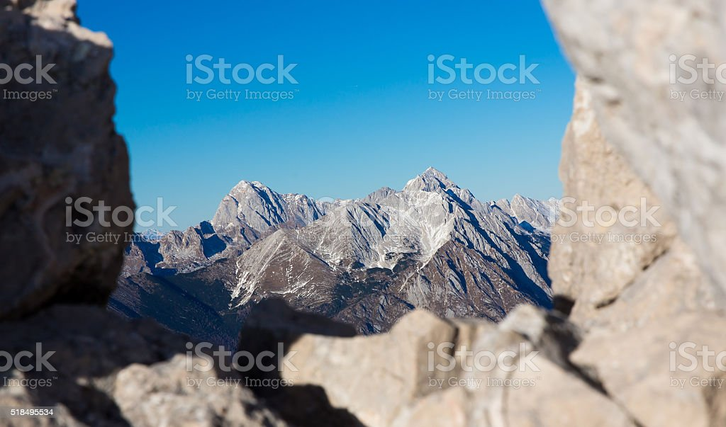 Krn Julian alps Slovenia stock photo