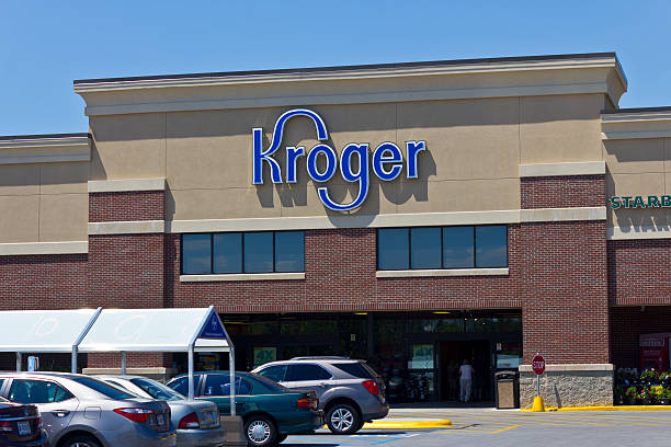 Kroger Supermarket III stock photo