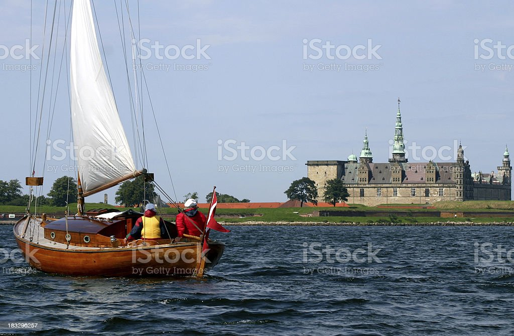 Kronborg at starboard 2 stock photo
