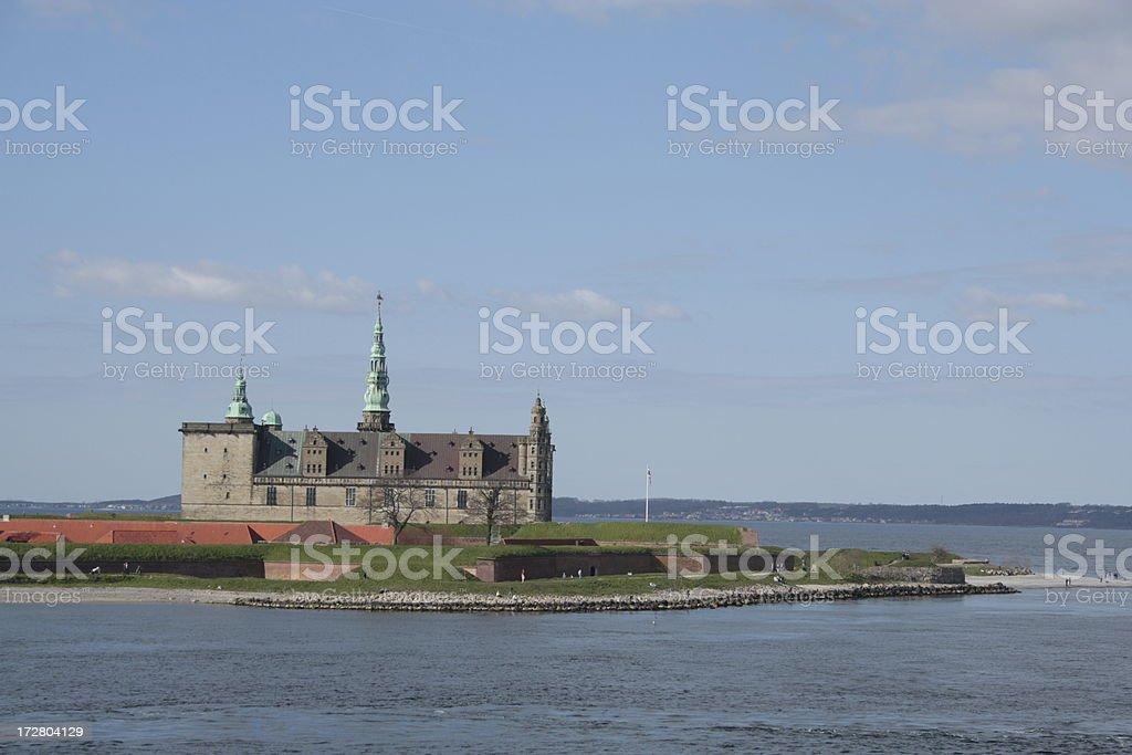 Kronborg Castle - Elsinore stock photo
