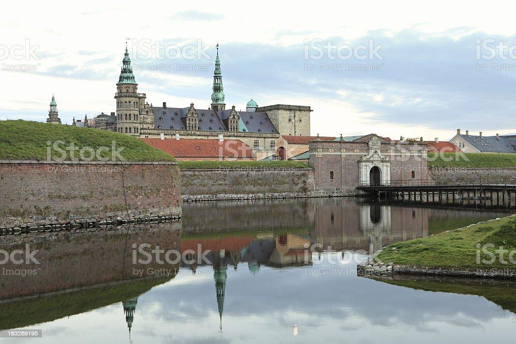 Kronborg Castle, Helsingør Denmark stock photo
